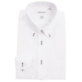 【THE SUIT COMPANY:トップス】【SUPER EASY CARE】ボタンダウンカラードレスシャツ 〔EC・FIT〕