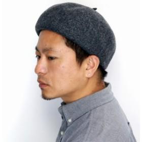 aba07ba3b20fb2 バスクベレー 小ぶり レディース 秋冬 帽子 ベレー フェルト メンズ ベレー帽 小さめ 毛 ベレー