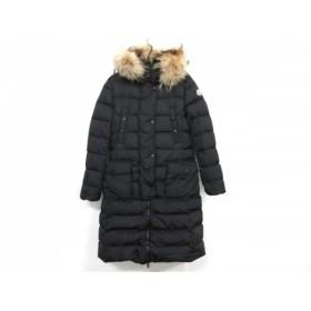 【中古】 モンクレール MONCLER ダウンコート サイズ2 M レディース KHLOE(クロエ) 68065 黒 冬物