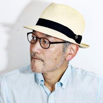 パナマハット メンズ 夏 日本製 ステットソン 帽子 ブランド ハット 中折れハット パナマ草100%