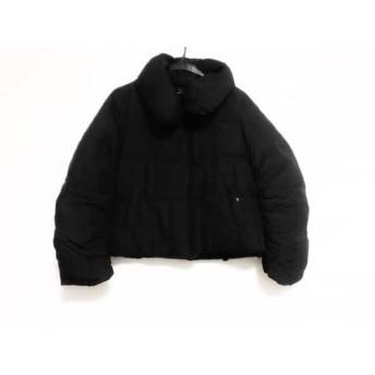 【中古】 ニジュウサンク 23区 ダウンジャケット サイズ40 M レディース 黒 冬物