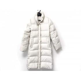 【中古】 エムプルミエ M-PREMIER ダウンコート サイズ36 S レディース 白 冬物