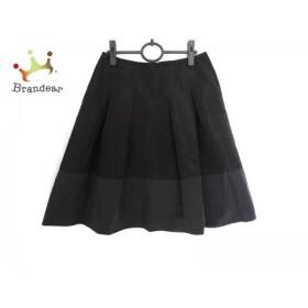 アマカ AMACA スカート サイズ40 M レディース 美品 黒     スペシャル特価 20190805