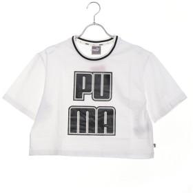 プーマ PUMA レディース 半袖Tシャツ REBEL RELOAD クロップ Tシャツ 845206