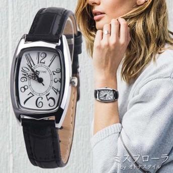 【予約】レディース 腕時計 女性用 ウォッチ 可愛い 数字 ホワイト文字盤 ファッション シンプル 長方形 人気 おしゃれ 革バンド