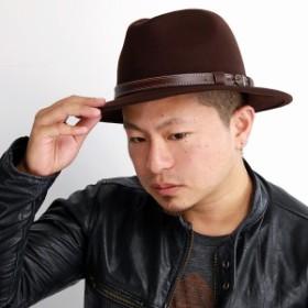帽子 中折れハット GALLIANO SORBATTI メンズ レディース ウール フェルト ハット インポート ガリア