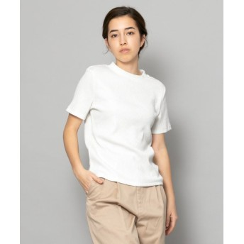 【26%OFF】 センスオブプレイス リブクルーネックTシャツ(半袖) レディース WHITE FREE 【SENSE OF PLACE】 【セール開催中】