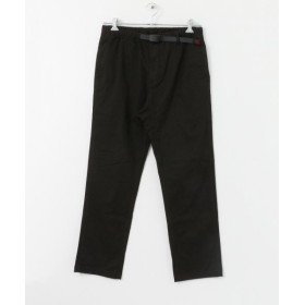 センスオブプレイス Gramicci NN PANTS JUST CUT メンズ BLACK M 【SENSE OF PLACE】