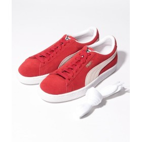 【20%OFF】 STYLES SUEDE CLASSIC PLUS 352634 05 ユニセックス RED 24.0cm 【STYLES】 【セール開催中】
