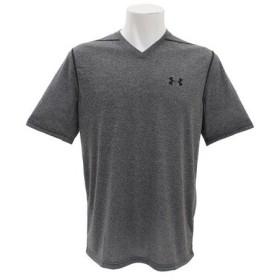 アンダーアーマー(UNDER ARMOUR) スレッドボーンVネック 半袖Tシャツ 1325168 BLK/BLK AT (Men's)