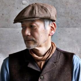 秋 冬 CHRISTYS LONDON ツイード キャスケット 八枚接ぎ 八方ハンチング ウール素材 クラシック 帽