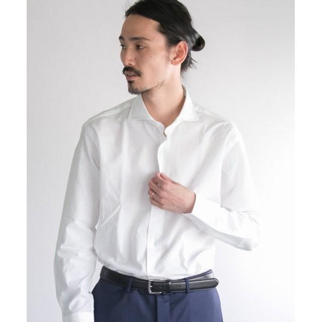 アーバンリサーチ URBAN RESEARCH Tailor ドビーシャツ メンズ WHITE L 【URBAN RESEARCH】