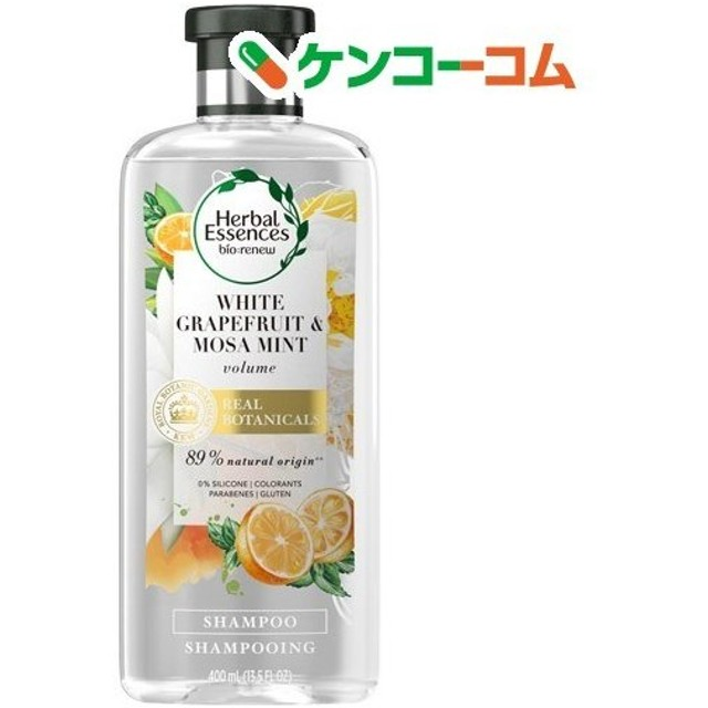 ハーバルエッセンス シャンプー ビオリニュー ホワイトグレープフルーツ&ミント ( 400mL )/ ハーバルエッセンス(Herbal Essences)