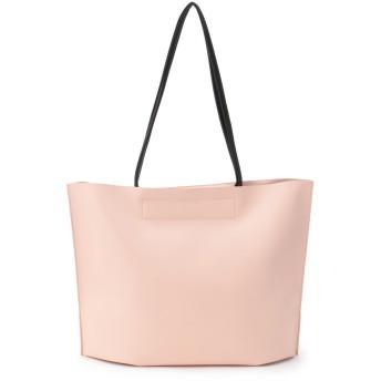 LAUGOA [ラウゴア]Laugoa フェイクレザー トート バッグ / Pattern トートバッグ,ライトピンク