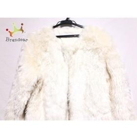 スライ SLY コート サイズ2 M レディース 美品 白 冬物/フェイクファー 新着 20190416