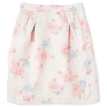 PROPORTION BODY DRESSING / プロポーションボディドレッシング  ぼかしフラワープリントスカート