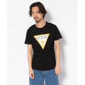 エルエイチピー GUESS/ゲス/トライアングルロゴプリントTシャツ メンズ BLACK M 【LHP】