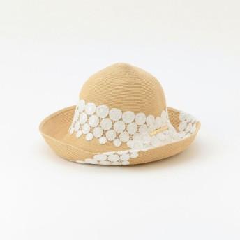 【アマカ(AMACA)】 【Athena New York】Scarllet Lace 帽子 オフホワイト