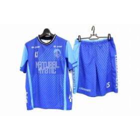 LUZeSOMBRA/ルースイソンブラ プラクティス ゲームシャツ&パンツ 未使用 保管品 メンズ Mサイズ メッシュ素材 ブルー系