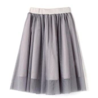 PROPORTION BODY DRESSING / プロポーションボディドレッシング  チュールボリュームスカート