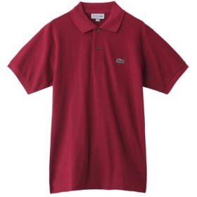SALE 【40%OFF】 Curensology カレンソロジー 【LACOSTE】 POLO TEE ボルドー