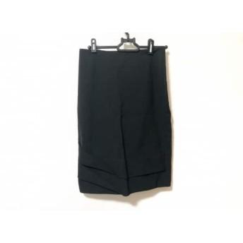 【中古】 パオラ フラーニ PAOLA FRANI スカート サイズ40(I) M レディース 美品 黒