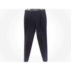 【中古】 エンフォルド ENFOLD パンツ サイズ36 S レディース 黒