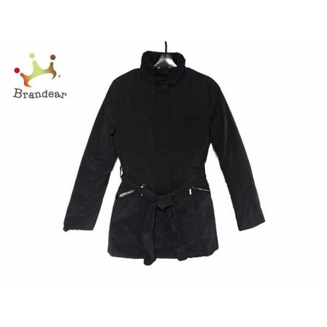 ミッシェルクラン MICHELKLEIN コート サイズ38 M レディース 美品 黒 冬物 新着 20190416