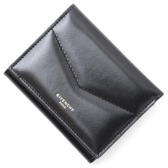 ジバンシー GIVENCHY 3つ折り財布 小銭入れ付き EDGE ブラック レディース bb6058b0cc-001