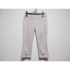 【中古】 トッカ TOCCA パンツ サイズ0 XS レディース アイボリー リボン