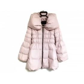 【中古】 トゥービーシック TO BE CHIC ダウンコート サイズ40 M レディース ピンク 冬物