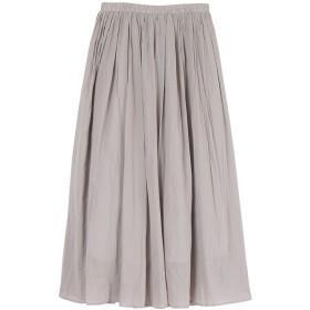 ur's ユアーズ コットンボイル ボリュームスカート