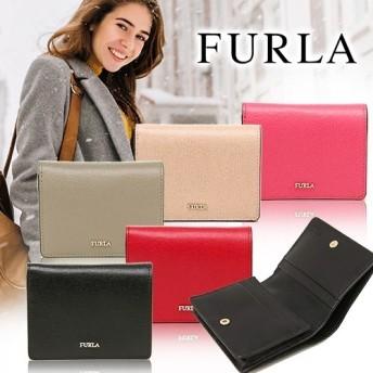 クーポン利用可能!FURLA/フルラ 二つ折り財布(ブラック) 財布 2つ折り財布 FURLA フルラ かわいい 人気 pz28