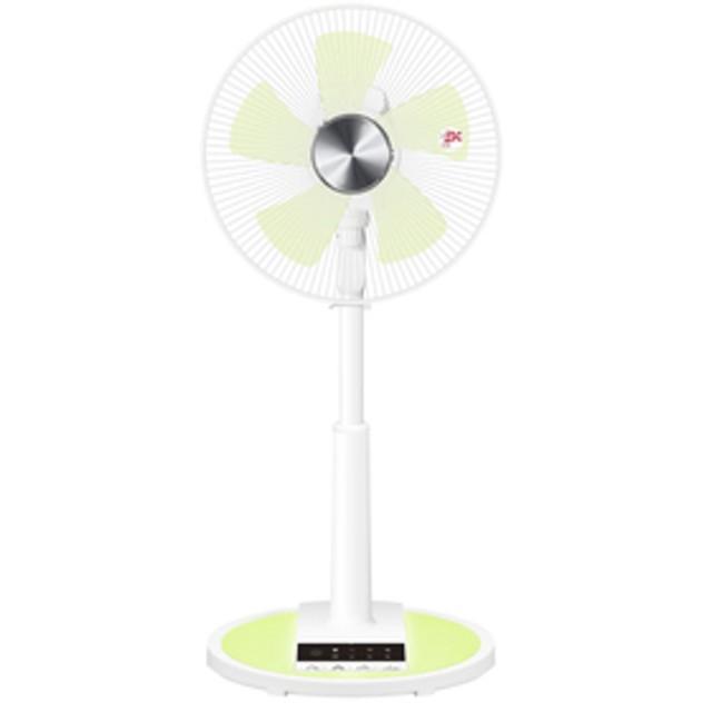 山善リモコン扇風機オリジナル クリアグリーンELR-BG302-CG