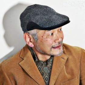 milaschon ハンチング ツイード 日本製 メンズ ミラショーン 帽子 秋冬 大きいサイズ ハンチング