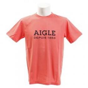 AIGLE DFT AIGLEロゴ半袖Tシャツ ZTH003C-115(Men's)
