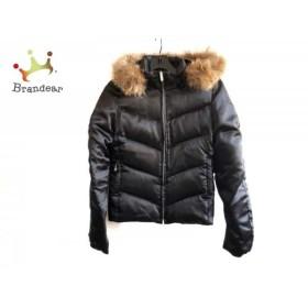 クレイサス CLATHAS ダウンジャケット サイズ38 M レディース 美品 黒×ブラウン 新着 20190417
