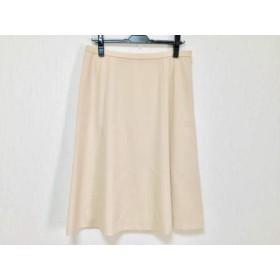 【中古】 レリアン Leilian スカート サイズ13 L レディース ベージュ