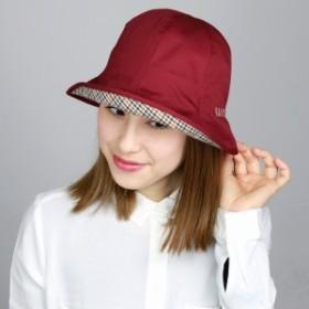 UV加工 レディース UVカット帽子 ハット チューリップハット DAKS 婦人 帽子 ダックス 日本製 ハ