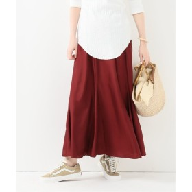 JOURNAL STANDARD L'ESSAGE 【Uhr/ウーア】Long Flare Skirt パープル 36