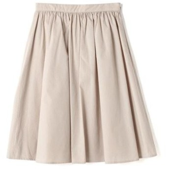 NATURAL BEAUTY BASIC / ナチュラルビューティーベーシック ドットメッシュミモレ丈スカート
