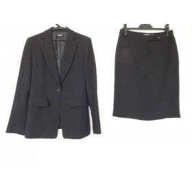 【中古】 ダナキャラン DKNY スカートスーツ サイズ6 M レディース 黒