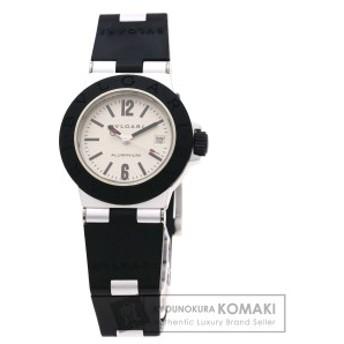 ブルガリ BVLGARI AL29TAVD アルミニウム 腕時計 アルミニウム ラバー レディース 中古