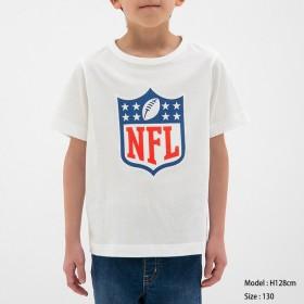 (GU)BOYSグラフィックT(半袖)NFL1 WHITE 110