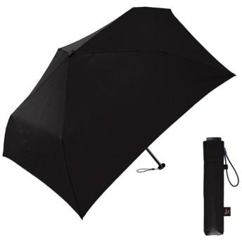 【折りたたみ傘】超軽量折りたたみ傘(ブラック) 50cm ブラック