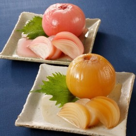 しそ梅酢&黒酢たまねぎ2種セット