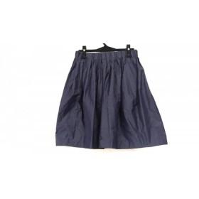 【中古】 ドレステリア DRESSTERIOR スカート レディース ネイビー