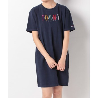 TOMMY JEANS グラフィックロゴTワンピース