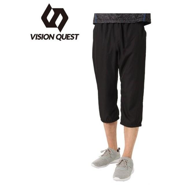 ビジョンクエスト VISION QUEST 7分丈パンツ メンズ RUNスリークォーターパンツ VQ561004I05