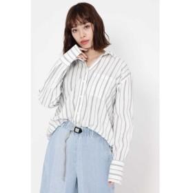ROSE BUD / ローズ バッド ストライプシャツ